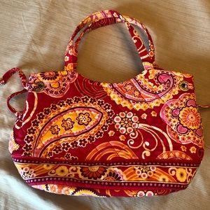 Vera Bradley Raspberry Fizz Sherry Tote bag
